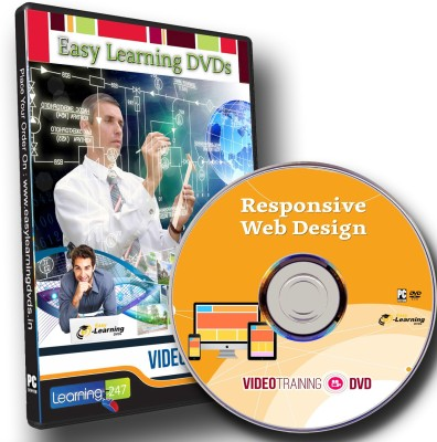Easylearning Learn Responsive Web Design Video Training Tutorial DVD