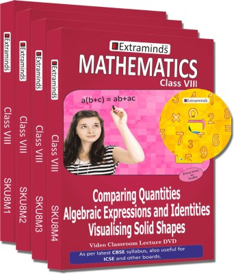 Extraminds Class VIII - Combo Maths - Lecture DVD