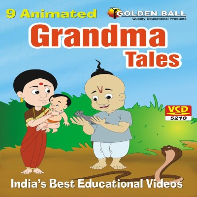 Golden Ball 9 Animated Granma Tales