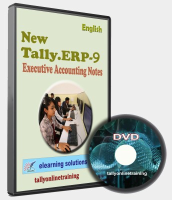 elearning solutions Tally ERP 9 Executive Accounting Notes in English