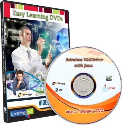 Easy Learning Learn Selenium WebDriver with Java Video Training Tutorial DVD