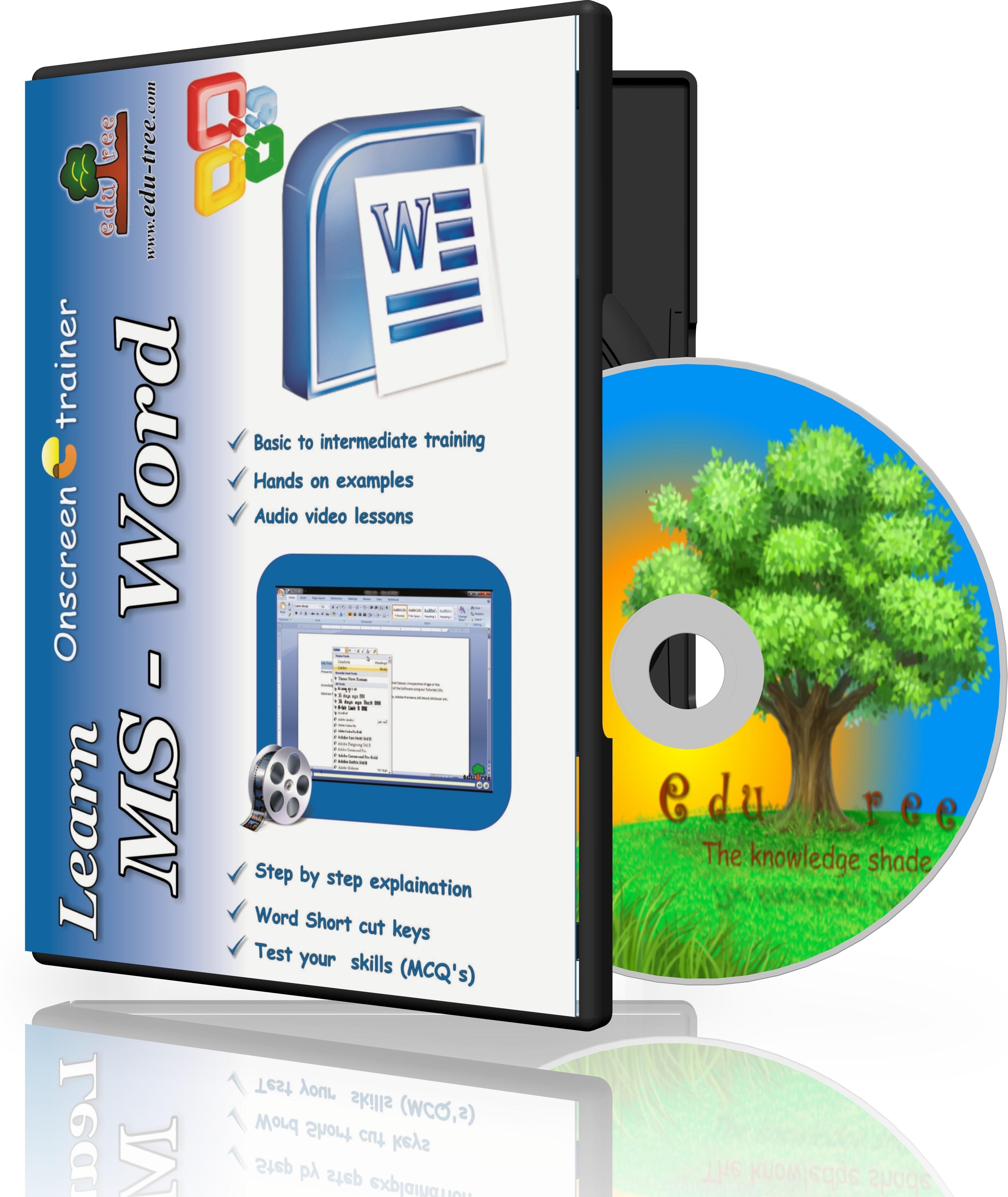 Edutree Learn MS Word 2007 ( In Hindi ) OnScreen Tutor (4 - 5 Hrs Duration)(1 CD Pack - Prepared by Microsoft Certified Specialist (MSCE))