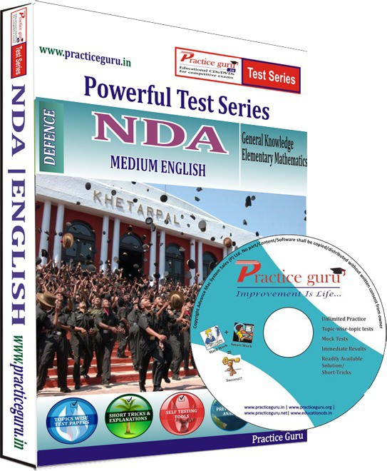 Practice Guru NDA Test Series(CD)