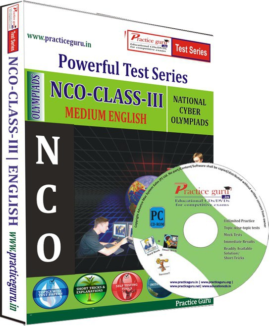 Practice Guru NCO Class 3 Test Series(CD)