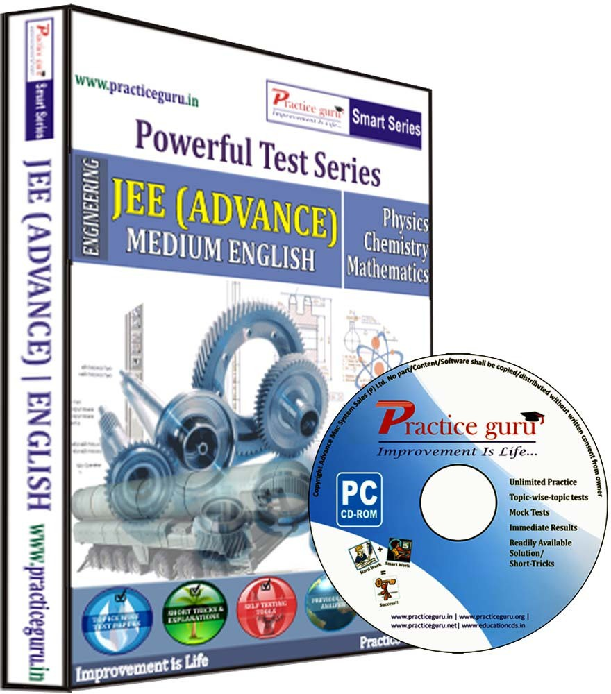 Practice Guru Powerful Test Series - JEE (Advance) Medium English