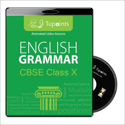 Tupoints CBSE class 10 English Grammar Multimedia Video Lessons