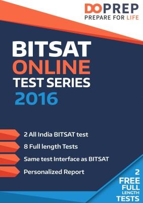DoPrep BITSAT 2016 Online Test Series