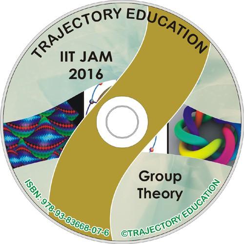 Trajectory Education Group Theory (Iit Jam Maths 2016)(DVD)