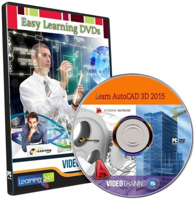 Easy Learning AutoCAD 3D 2015 Video Training Tutorial DVD