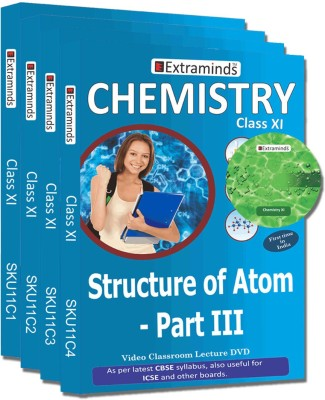 Extraminds Class XI - Combo - Chemistry- Lecture DVD