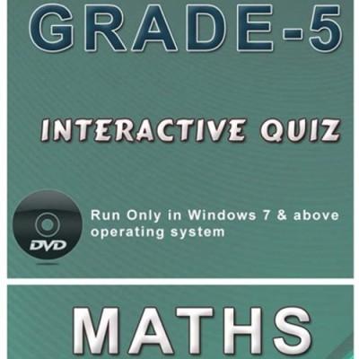 iBooks Class 5 Mathematics Interactive Quiz DVD