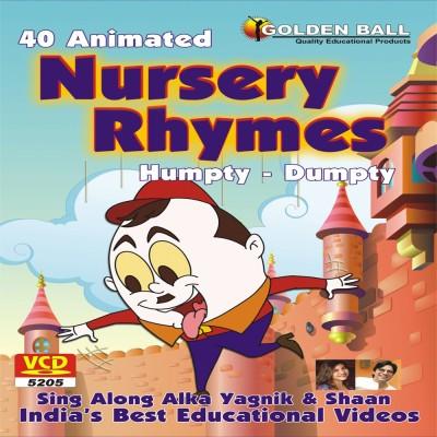 Golden Ball 40 Animated Nursery Rhymes Humpty Dumpty