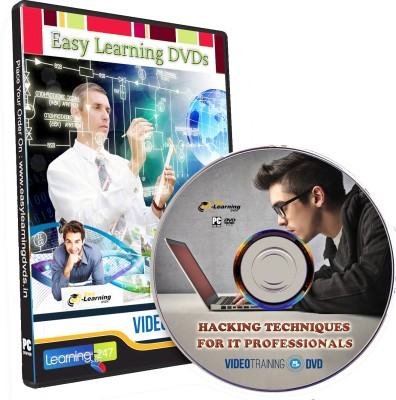 Easy Learning LEARN HACKING TECHNIQUES FOR IT PROFESSIONALS VIDEO TRAINING DVD