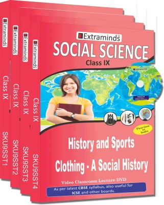 Extraminds Class IX - Combo Social Science - Lecture DVD