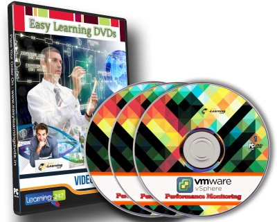 Easy Learning VMware vSphere Performance Monitoring Training Course On 3 DVDs