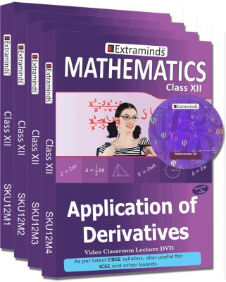 Extraminds Class XII - Combo – Maths- Lecture DVD