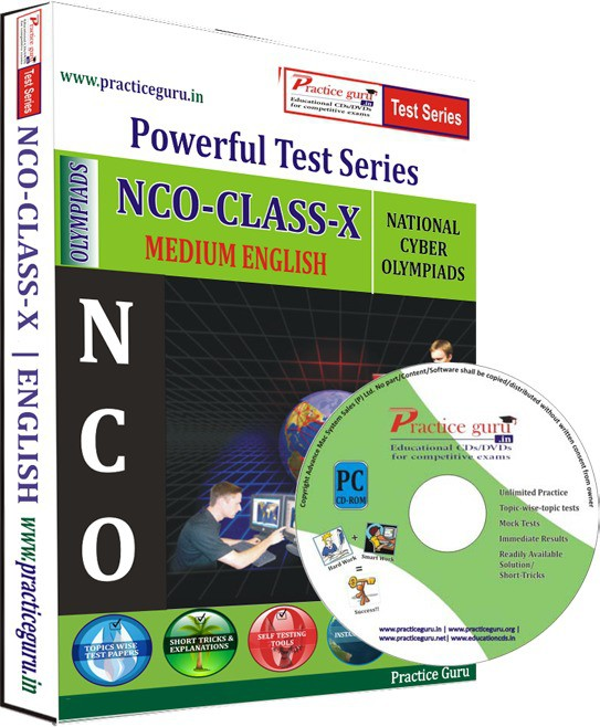 Practice Guru NCO Class 10 Test Series(CD)