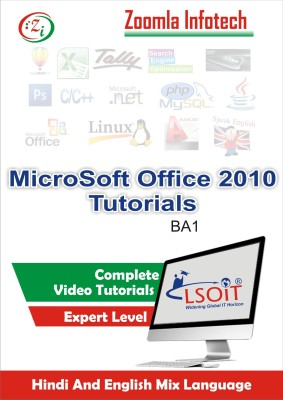 LSOIT MS Office 2010, Internet and Emails, Excel, Word, Powerpoint Video Tutorials in Hindi- Total 117 Lectures and Total Duration 21 Hours