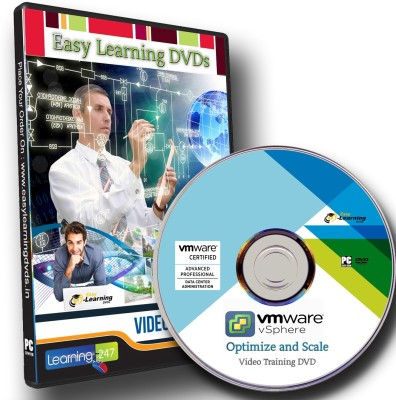Easy Learning VMware vSphere Optimize and Scale (VCAP5-DCA) Video Training Course DVD
