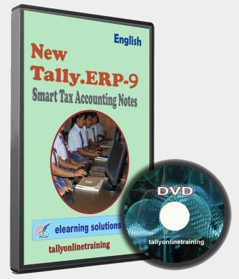 elearning solutions Tally ERP 9 Smart Tax Accounting Notes in English