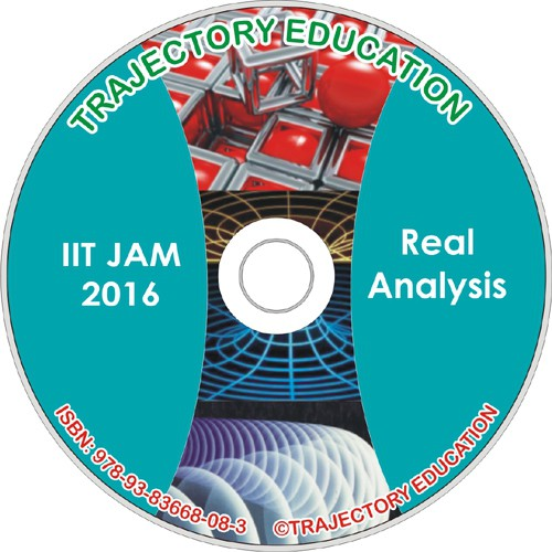 Trajectory Education Real Analysys (Iit Jam Maths 2016)(DVD)
