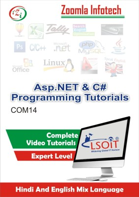 LSOIT ASP.NET Programming+ C SHARP PROGRAMMING (C#) Video Tutorials in hindi , Total 344 Lecturess and Total Duration 42 Hours