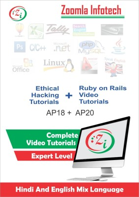 Zoomla Infotech Ethical hacking Details, Tools, Tips and Tricks & Learn Ruby on Rails with the Best Free Online Tutorials DVD/CD in Hindi