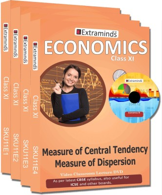 Extraminds Class XI - Combo – Economy- Lecture DVD