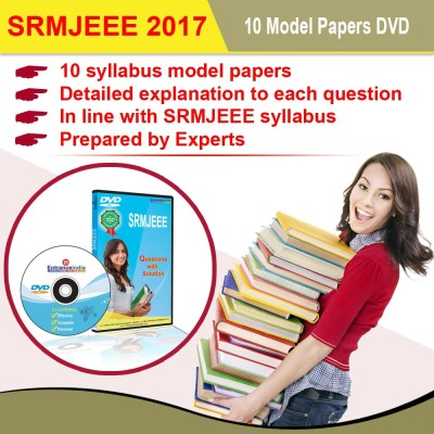 Entranceindia.com SRM Engineering Entrance 2017 10 Model Papers DVD