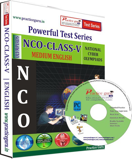 Practice Guru NCO Class 5 Test Series(CD)