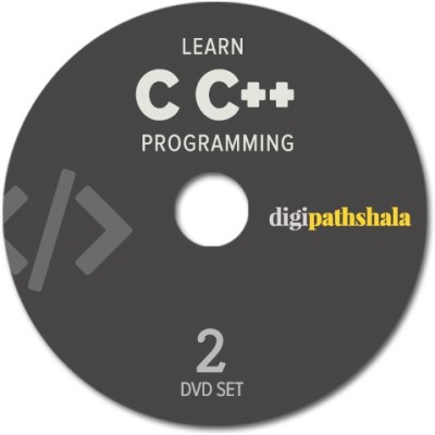 Digi Pathshala Learn C C++ Programming Language from Scratch 2 CD's Set (80+ video Lectures and 6 hours of content)