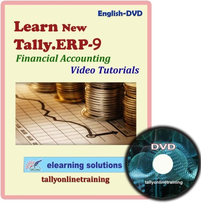 Elearning Solutions Tally.ERP 9 Financial Accouting Video Tutorial in English