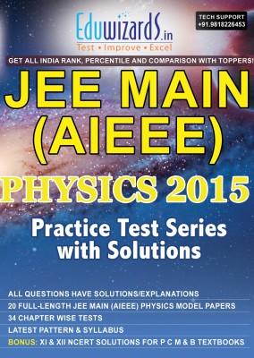 Eduwizards JEE Main (AIEEE) Physics 2015