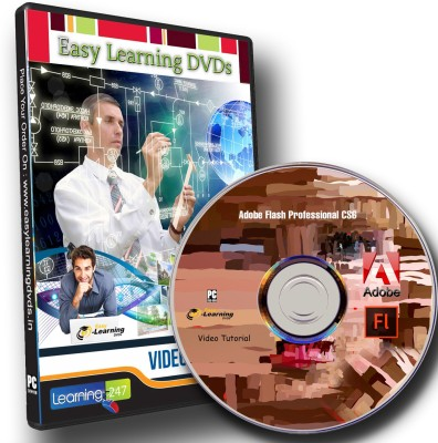 Easy Learning Adobe Flash Professional CS6 Video Training Tutorial DVD