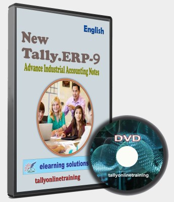elearning solutions Tally ERP 9 Advance Industrail Accounting Notes in English