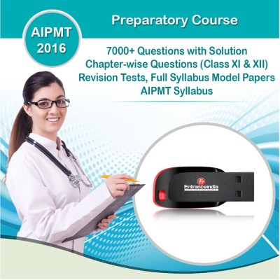 Entranceindia.com AIPMT 2016 Preparatory Course with 10 Model Papers (Pendrive)