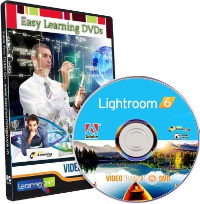 Easy Learning Adobe Lightroom 6 Video Training Tutorial DVD