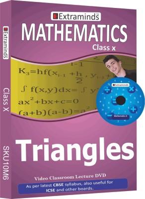 Extraminds Class X - Maths - Title 6 Lectures DVD