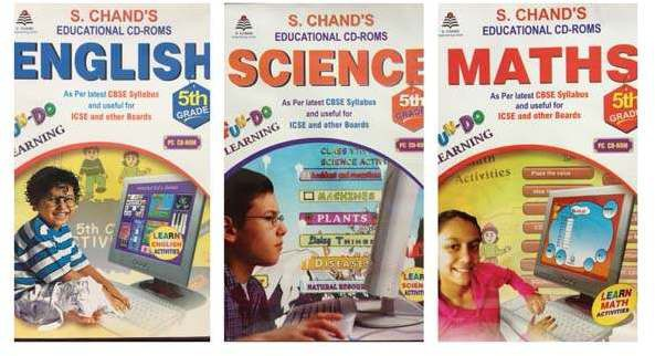 S.CHAND FUN-DO-COMBO PACK -MATHS/SCIENCE/ENGLISH FOR 5TH CLASS(CD)
