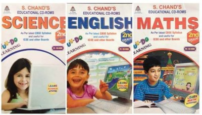 S.CHAND FUN-DO-COMBO PACK -MATHS/SCIENCE/ENGLISH CD FOR 1ST CLASS