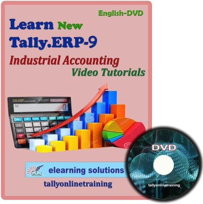 Elearning Solutions Tally.ERP 9 Industrial Accouting Video Tutorial in English