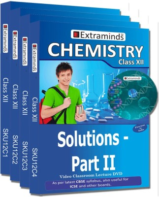 Extraminds Class XII - Combo - Chemistry- Lecture DVD