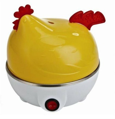 Gadget Bucket Electric Boiler Boils Eggs Quite Fast Egg Poacher Steamer, Cooker, Fryr H6U117 Egg Cooker(7 Eggs)