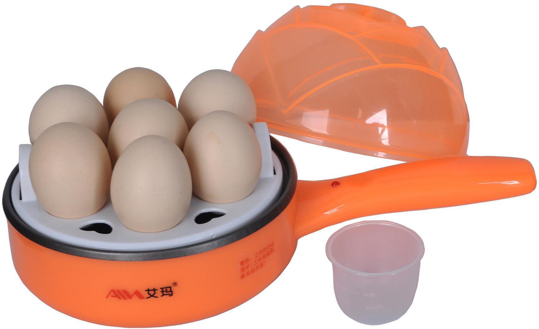 Honestystore Electric Boiler Steamer Non Stick Frying Pan Roaster Omelette Maker HS37 Egg Cooker