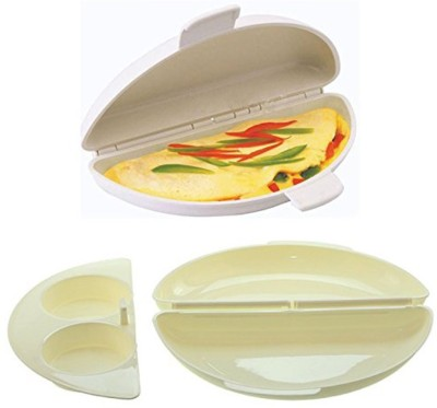 Divinext Microwave Perfect Omelet Pan Egg Cooker(0 Eggs)