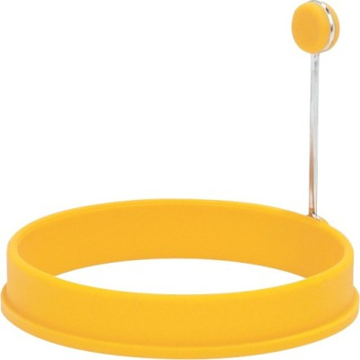 Trudeau Silicone Egg Ring Yellow Plastic Egg Separator