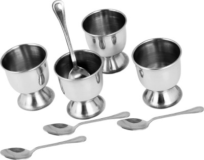 Montstar Egg Cups with Spoon Stainless S...