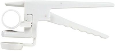 Italish Easy Egg Breaker Tool Plastic Egg Separator(White, Pack of 1)