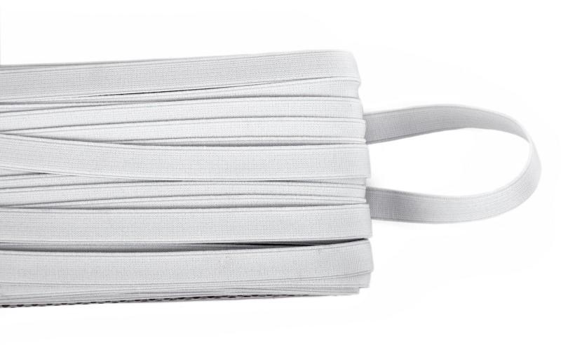 Vardhman Woven White Elastic(25 m)