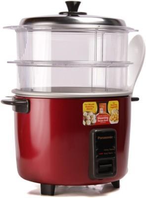 Panasonic SR-WA18H (SS) Rice Cooker, Food Steamer
